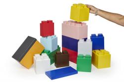 Lego Blocks - White