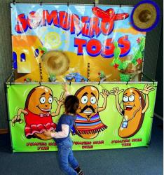 Sombrero Toss Frame Game