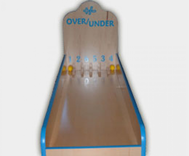 Over Under Table Game Spokane Inflatable Party Rentals