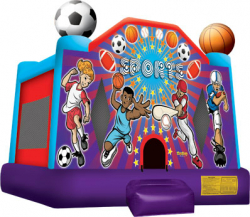 Blue Sports Bouncer