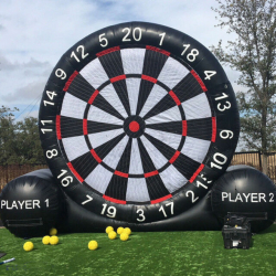 Giant Game Soccer Inflatable Football Dart Board