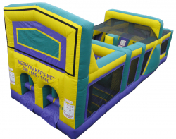 30 FOOT THEMED OBSTACLE COURSE