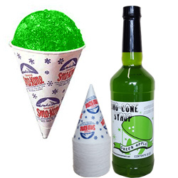 Sno-Kone Green Apple (30 serv)