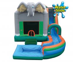 ELEPHANT JUMP N SPLASH w/POOL