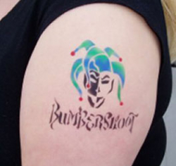 AIRBRUSH TEMP TATTOOS