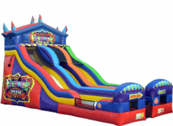 FUNHOUSE DRY SLIDE
