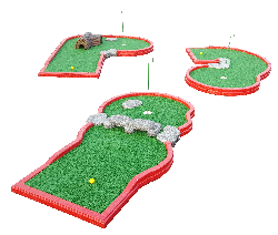 MINI GOLF - 6 HOLES