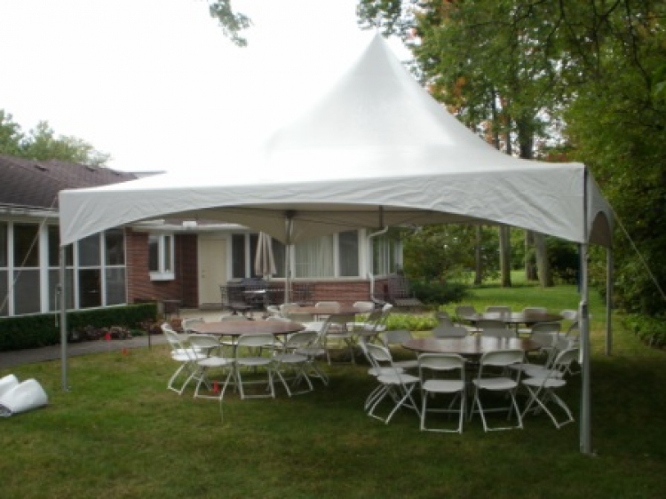 top notch tent rental Ravenna, OH