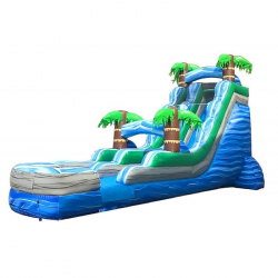 18ft Tropical Slide (Wet)