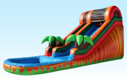 14' Tropical Fiesta Water Slide