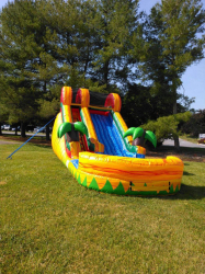 14' Tropical Fiesta Dry Slide