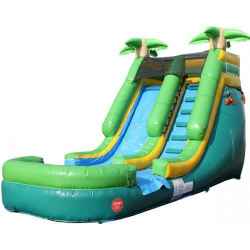 13' Tropical Plunge WET slide