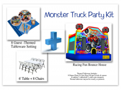 Monster Truck Party Kit