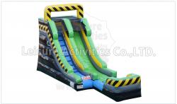 15ft Toxic Slide (Wet)