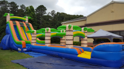 22ft Slide with Slip and Slide