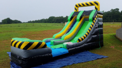 15ft Toxic Slide (Wet)