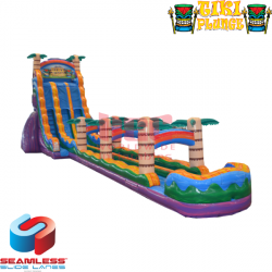 27ft Tiki Plunge with Slip and Slide