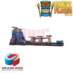 22ft Tiki Plunge with Slip and Slide