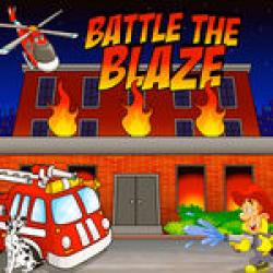 Battle the Blaze Frame Game