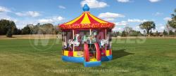 Carnival Carousel Moonwalk