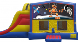 Extreme Space Bouncer with Slide