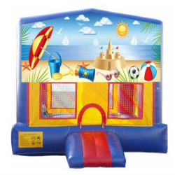 Beach Extreme Bouncer with Slide