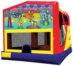 Circus Extreme Bouncer with Slide
