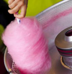 Bubble Gum Cotton Candy Servings
