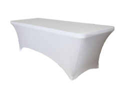 Spandex 6ft Rectangular Table Linen