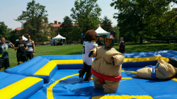 Sumo Suits with Inflatable Ring