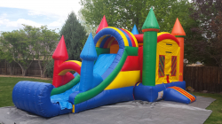Rainbow Bouncer with Slide