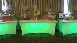 Lighted Rectangular Table