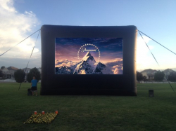 Midsize Movie Screen