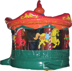 Carousel Bouncer with Slide