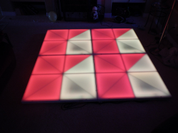 6.5 x 9.5 LED Dance Floor