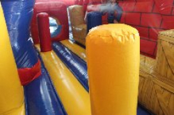 Extreme Builder Zone Bouncer with Slide