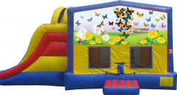 Butterfly Extreme Bouncer w/ Pool