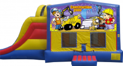 Construction Extreme Bouncer with Slide