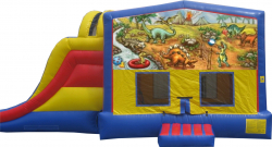 Dinosaur Extreme Bouncer with Slide