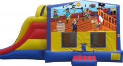 Pirate Extreme Bouncer with Slide
