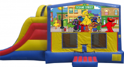 Sesame Street Extreme Bouncer with Slide