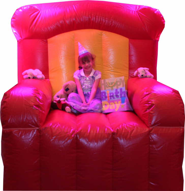 Inflatable Kids Birthday Chair