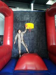 2 in 1 Basketball Spiderwall