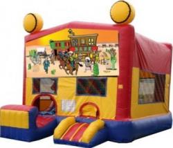 Western Modular Bouncer with Slide