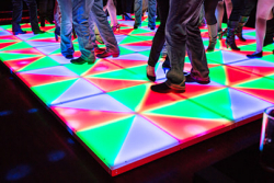 16 X 16 LED Dance Floor