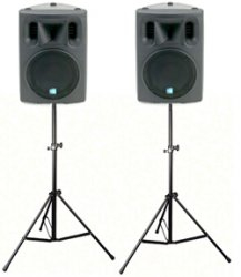10″ Powered Speakers