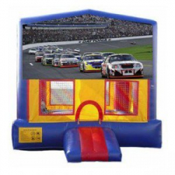 15×15 Race Car Bouncer