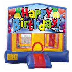 15×15 Happy Birthday Bouncer