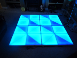 6.5 x 6.5 LED Dance Floor