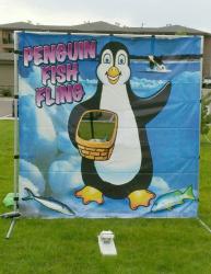 Penguin Fling Game